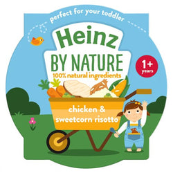 Heinz Chicken and Sweetcorn Risotto Tray 230g | 2 for £1