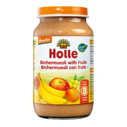 Holle Organic Birchermuesli with Fruit Baby Food | 3 for £1