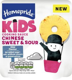Homepride Kids Chinese Sweet and Sour Cooking Sauce 170g | 2 for £1