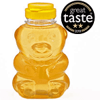 Raw Acacia Honey in Bear 350g