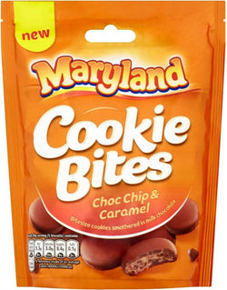 Maryland Cookie Bites Choc Chip and Caramel 120g