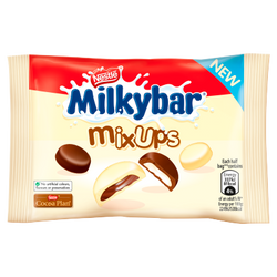 Milkybar Mix Ups White and Milk Chocolate Bag 32.5g | 2 for £1