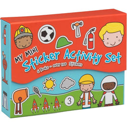 Boys 2 Magnetic Mini Sticker Book Set