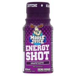 Moose Juice Energy Shot Grapetastic 60ml