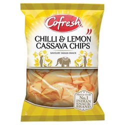 Cofresh Chilli & Lemon Cassava Chips 150g | 2 for £1