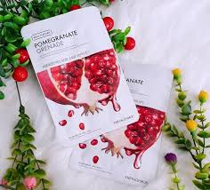 THE FACE SHOP Real Nature Pomegranate Face Mask 1pc 20g | Offer 2 for £1