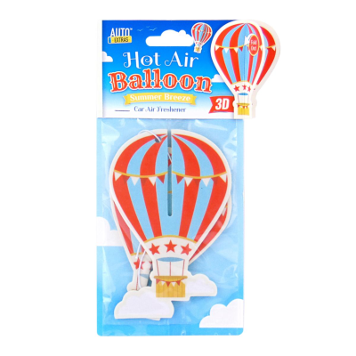 Auto Extras 3D Hot Air Balloon Car Air Freshener