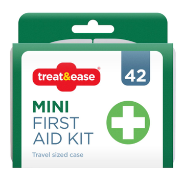 First Aid KitMini Travel Compact Case Home Office Work Car
