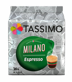 Tassimo Cities Pack Milano x 16 pods