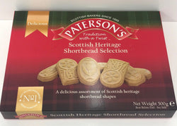Patersons Scottish Shortbread Selection Box 500g