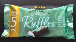 Jameson's Peppermint & Coconut Ruffles 5x26g | 3 for £1