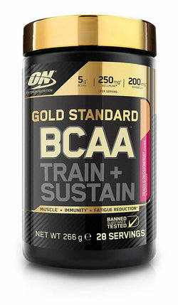 Optimum Nutrition Gold Standard BCAA Powder, Raspberry and Pomegranate - 266g