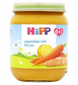 HiPP Organic Vegetables with Fish Pie 6+ | 3 for £1