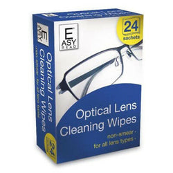 Easy Read Optical Lens Cleaning Wipes 24pk