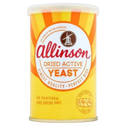 Allinsons Dried Active Baking Yeast - 125g