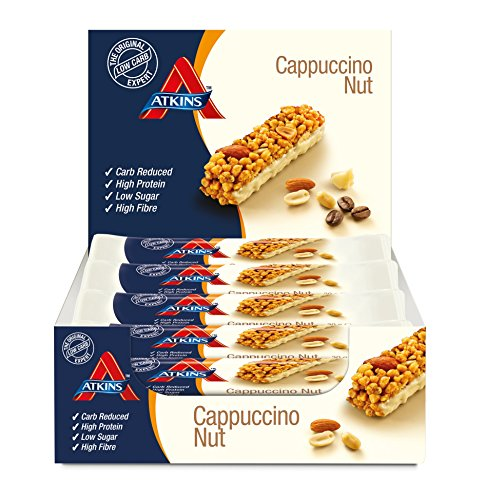 Atkins Cappuccino Nut, Low Carb, High Protein - 30g