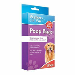 Doggy Bags Poop Bag Pooper Scooper 125 Pack
