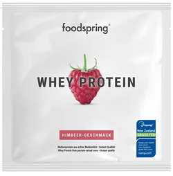 RASPBERRY WHEY PROTEIN TASTER PORTION 30g
