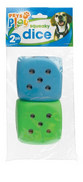 Pets Play Squeaking Dice 2pk