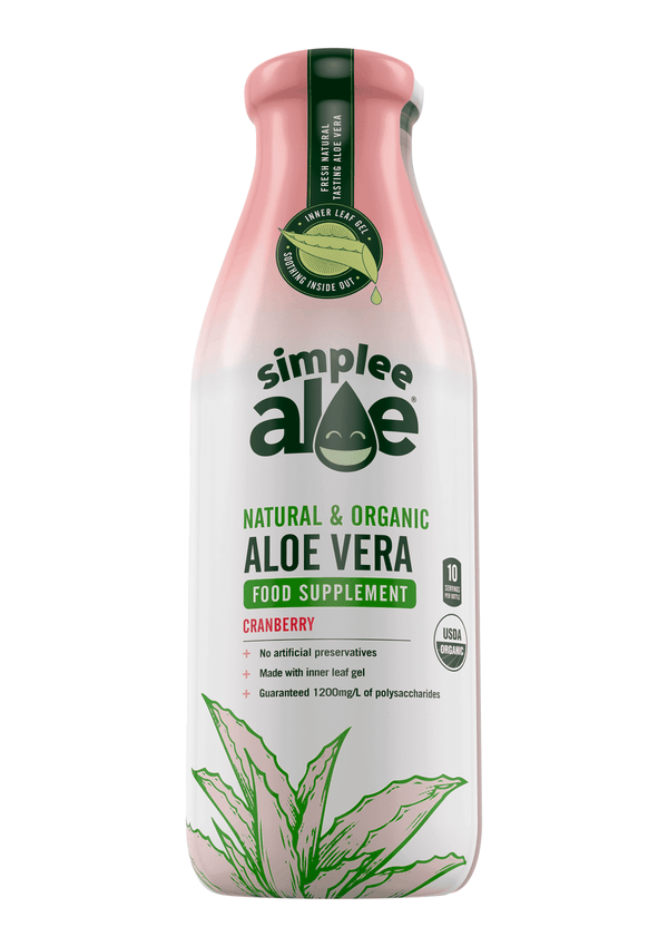 Simplee Aloe Cranberry Drink 500ml | 2 FOR £1