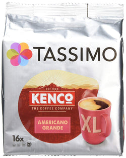 Tassimo Kenco Americano Grande Coffee Pods (16 pods, 16 servings)