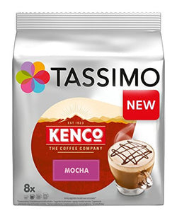 Tassimo Kenco Mocha Coffee  x8 Pods