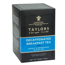 Taylors Decaffeinated Breakfast tea bags 50g