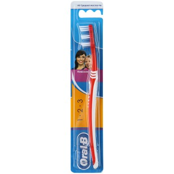 Oral-B Classic Red 40 Medium Toothbrush