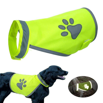 Royalty Dog Walking Reflective Safety Vest - Royalty Express Hub