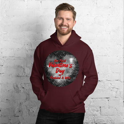 Valentines Day Unisex Hoodie - Royalty Express Hub