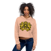 Royalty Express Hub Crop Hoodie - Royalty Express Hub