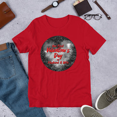 First Valentine's Unisex T-Shirt - Royalty Express Hub