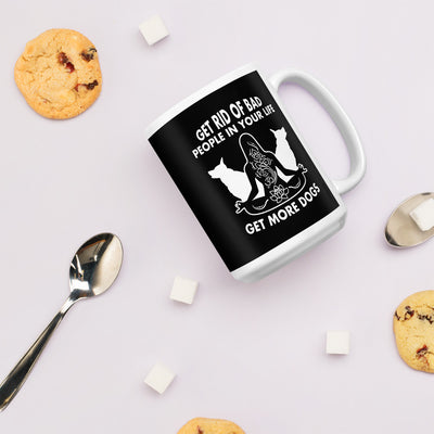 Get Rid Of Bad People Mug - Royalty Express Hub