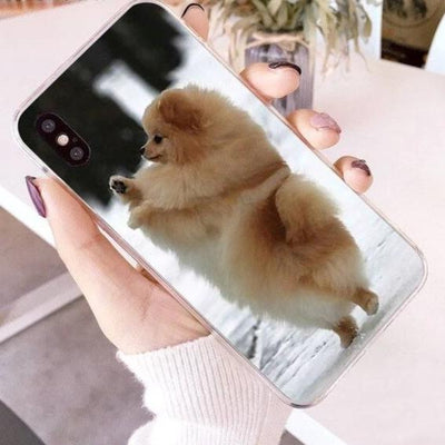 Dog Colorful Cute Phone Case - Royalty Express Hub