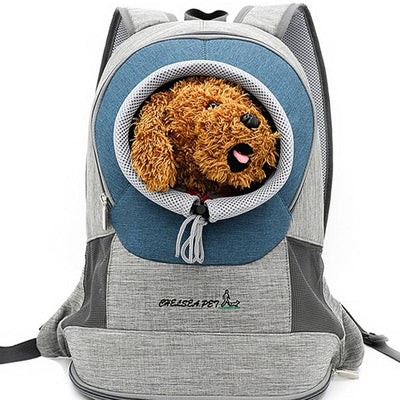 Safety Mesh Dog Backpack - Royalty Express Hub