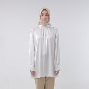 Qila White Blouse