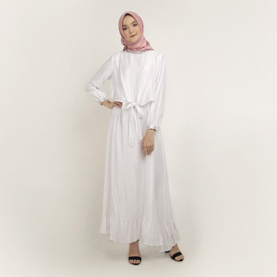 Fawziya White Dress