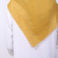 Adaline Cut Out Mustard Scarf