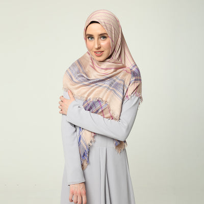 Columbine Scarf Cream