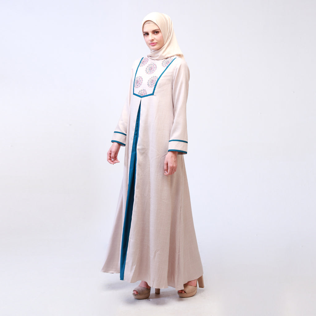 Marocco Embroidery Zeline Dress