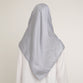 Alika Scarf Light Grey
