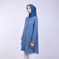 Zyana Light Blue Basic Blouse