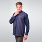 Striped Navy Ikhmar Menswear