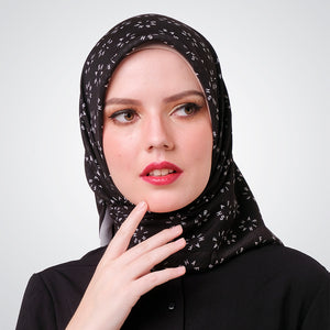 Black Shafira Glam Scarf