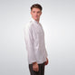White Pleated Ardhian II Menswear