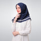 Navy Shafira Glam Scarf