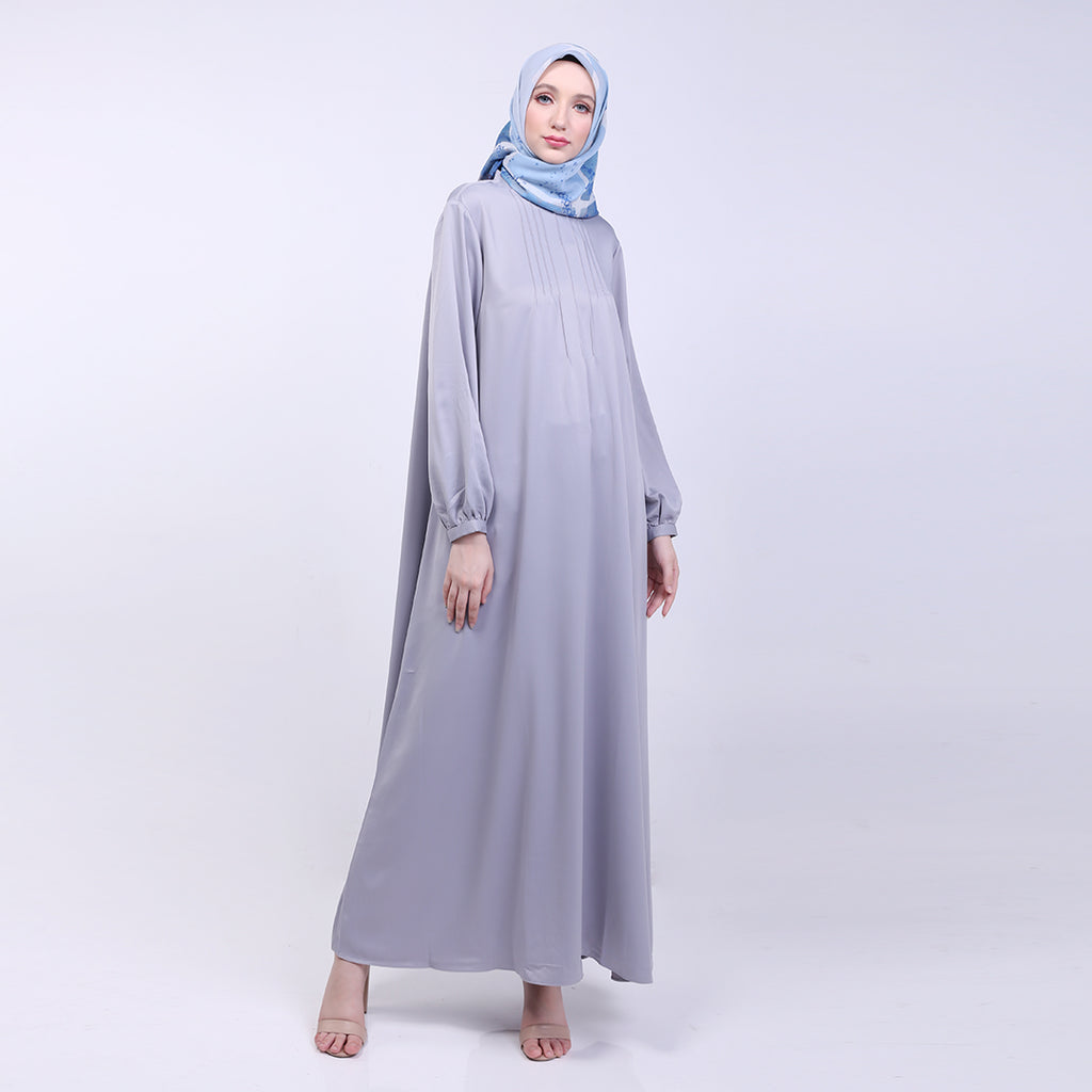 Maisha Grey Basic Dress