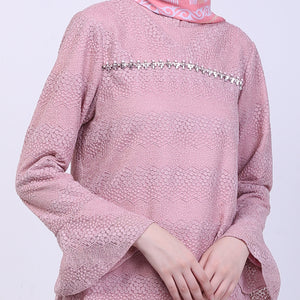 Dustypink Lace Addriana Blouse