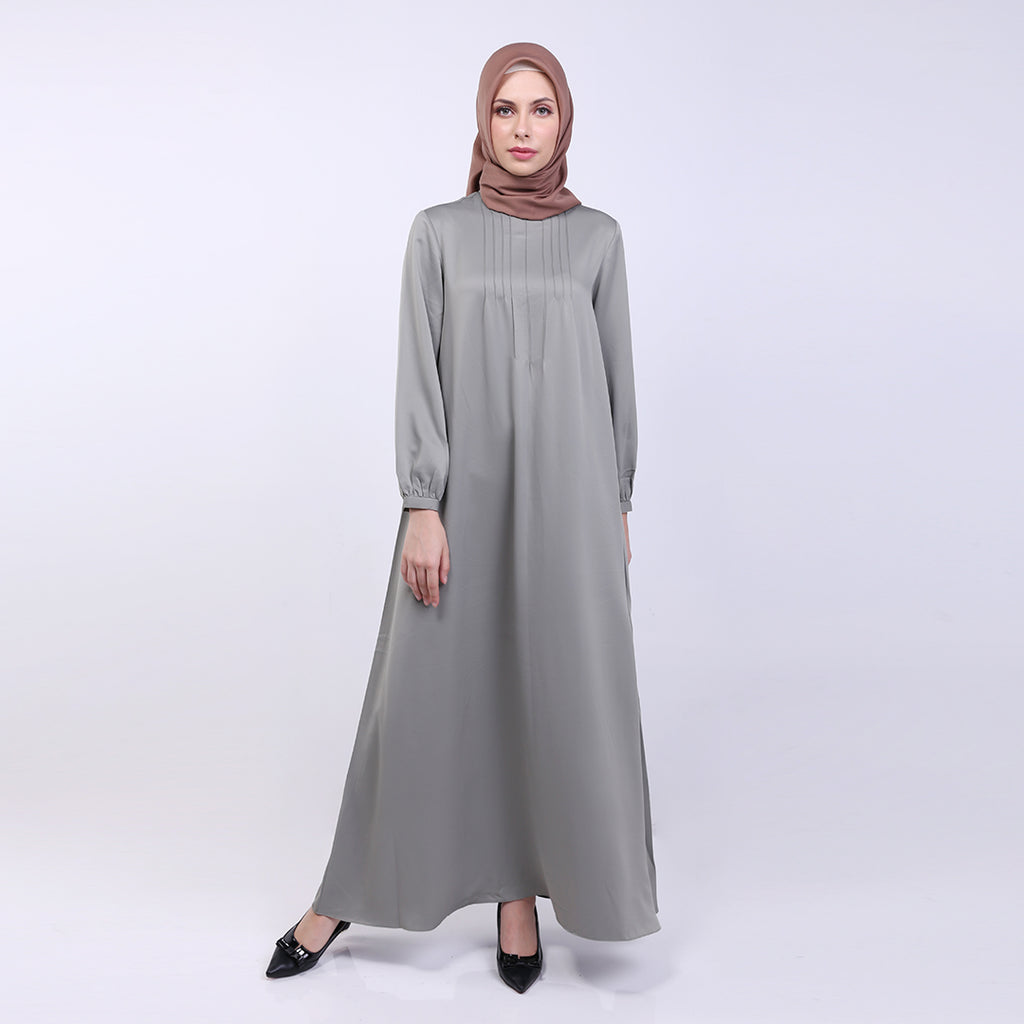Amora Green Basic Dress