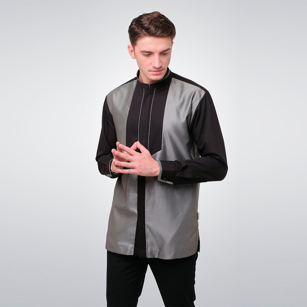 Grey Long Sleeve Kendra Menswear